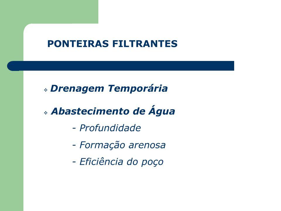 PONTEIRAS FILTRANTES
