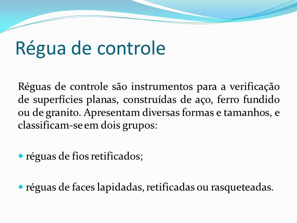 Conservação  Não pressionar nem atritar a régua de fios retificados contra a superfície.