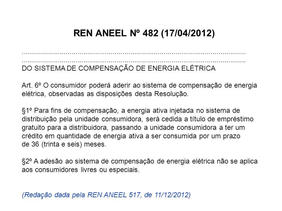 REN ANEEL Nº 482 (17/04/2012).................................................................................................................. DO SIS