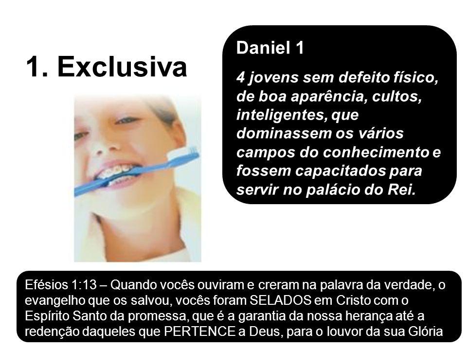 1. Exclusiva Daniel 1 4 jovens sem defeito físico, de boa aparência, cultos, inteligentes, que dominassem os vários campos do conhecimento e fossem ca