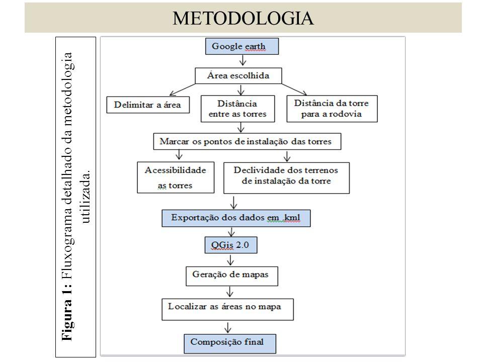 Figura 1: Fluxograma detalhado da metodologia utilizada.