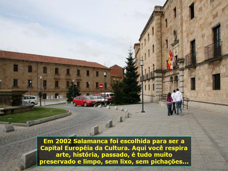 Em 2002 Salamanca foi escolhida para ser a Capital Européia da Cultura.