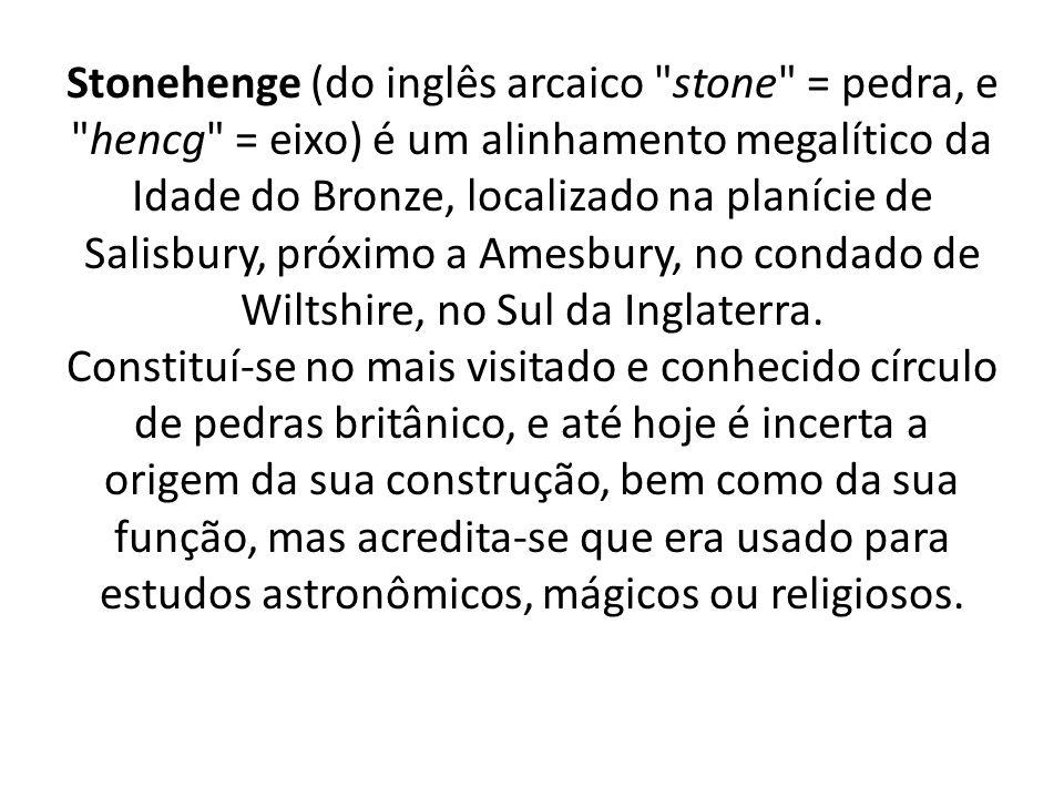 Stonehenge (do inglês arcaico