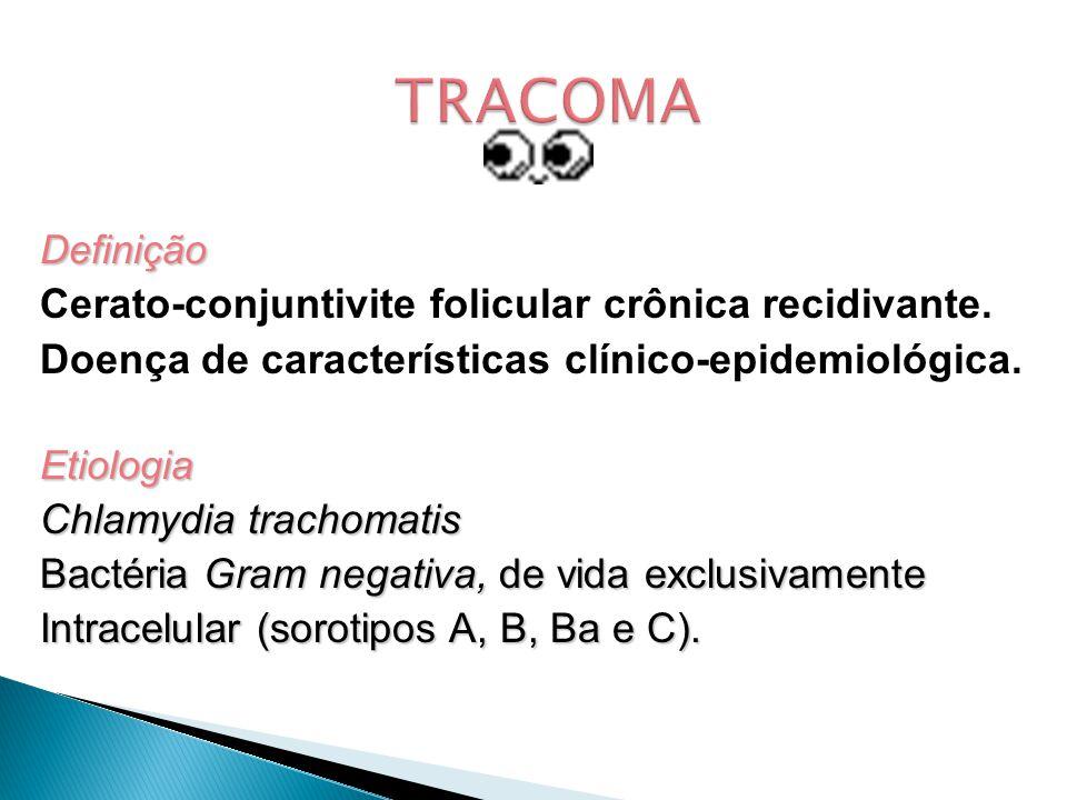 Definição Cerato-conjuntivite folicular crônica recidivante.