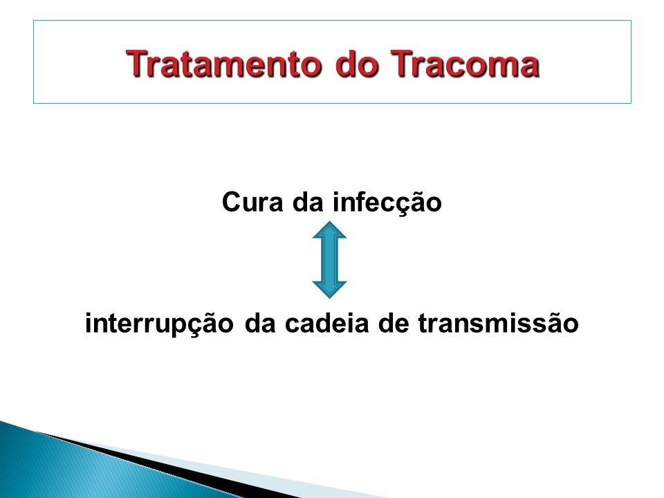 Cura da infecção interrupção da cadeia de transmissão