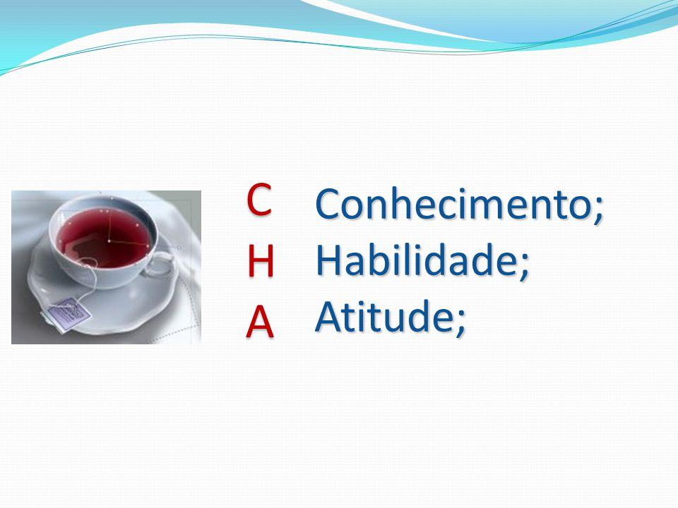 Conhecimento;Habilidade;Atitude; CHA