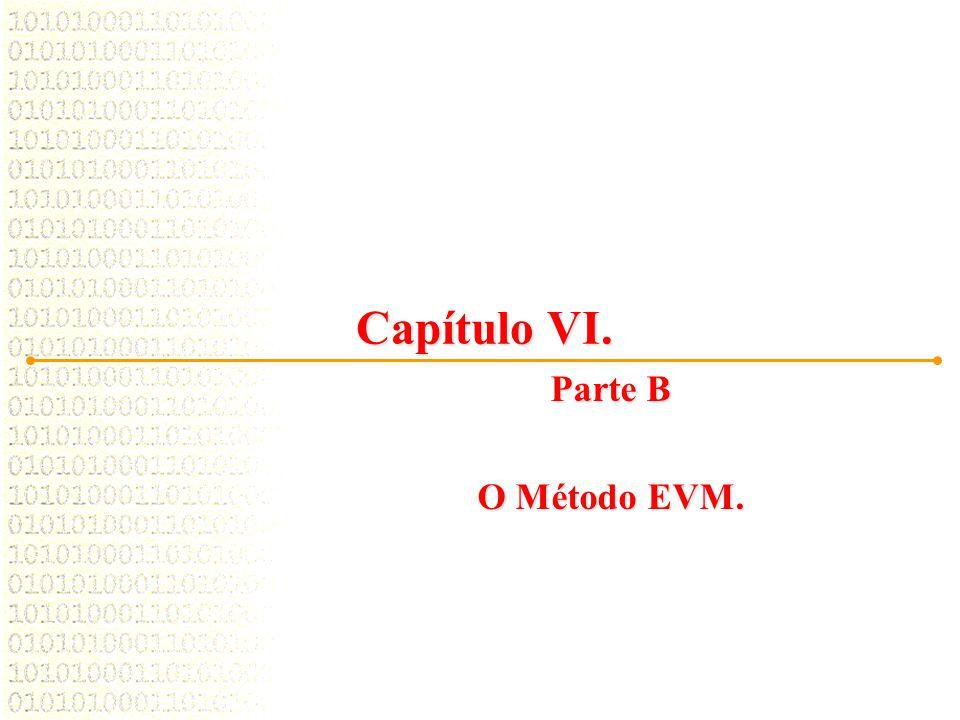 Capítulo VI. Parte B O Método EVM.