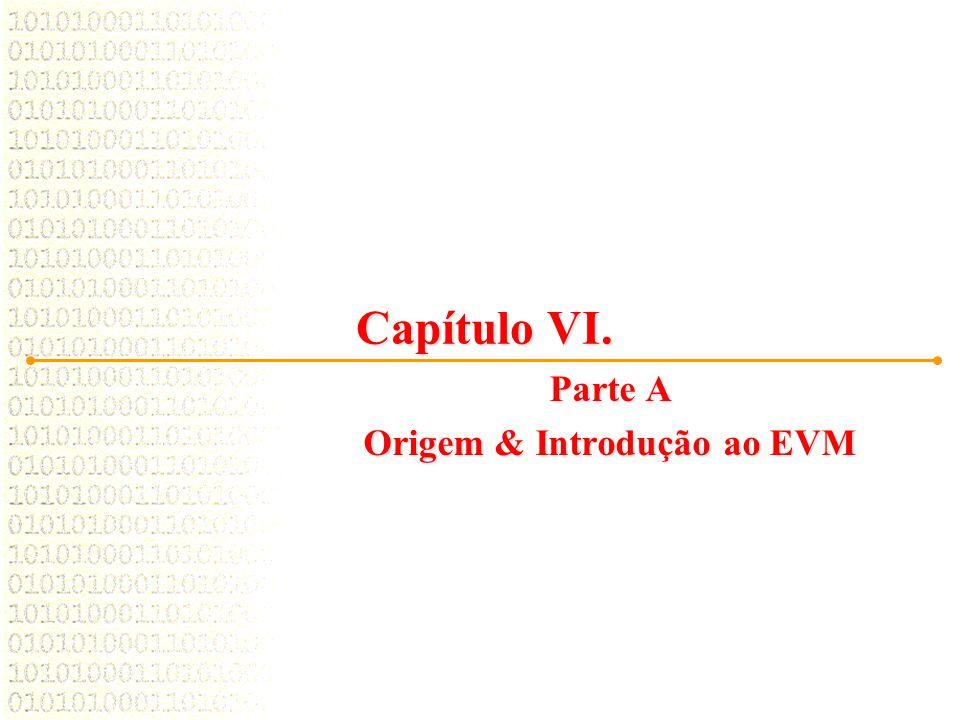 Capítulo VI. Parte A Origem & Introdução ao EVM