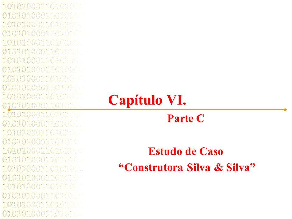 """Capítulo VI. Parte C Estudo de Caso """"Construtora Silva & Silva"""" """"Construtora Silva & Silva"""""""