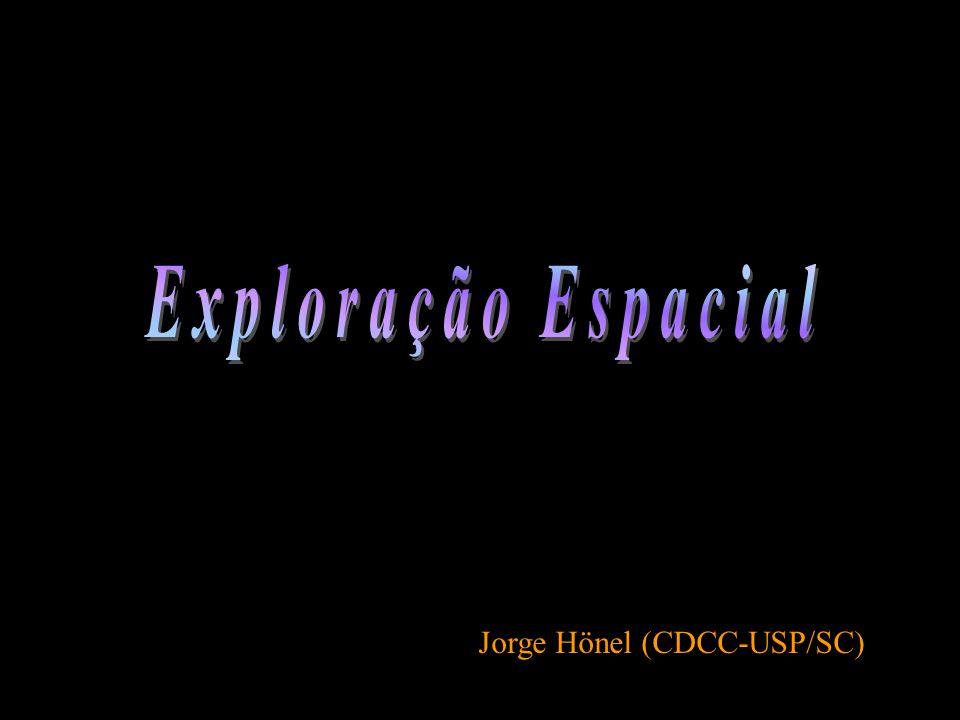 Jorge Hönel (CDCC-USP/SC)