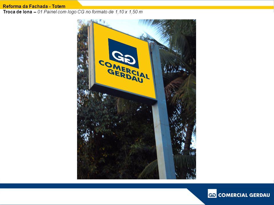 Reforma Placas de Cerca Troca de lona – 05 placas no formato de 1,50 x 1,20 m