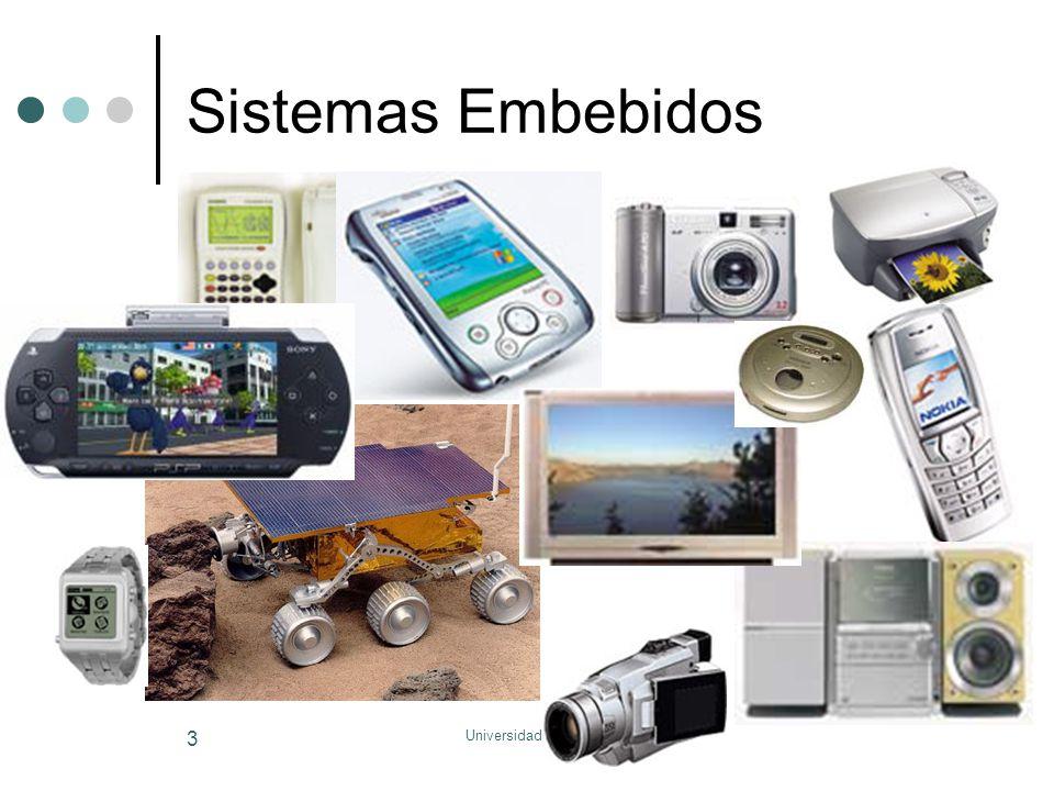 Universidade do Algarve 154 Sistema Embebidos Analógico-Digitais 001001 010010 101101 101101 101101 Digital para analógico 010010 001001 101101 101101 101101 Analógico para digital CPU (uP, uC, DSP) Memória Hardware adicional
