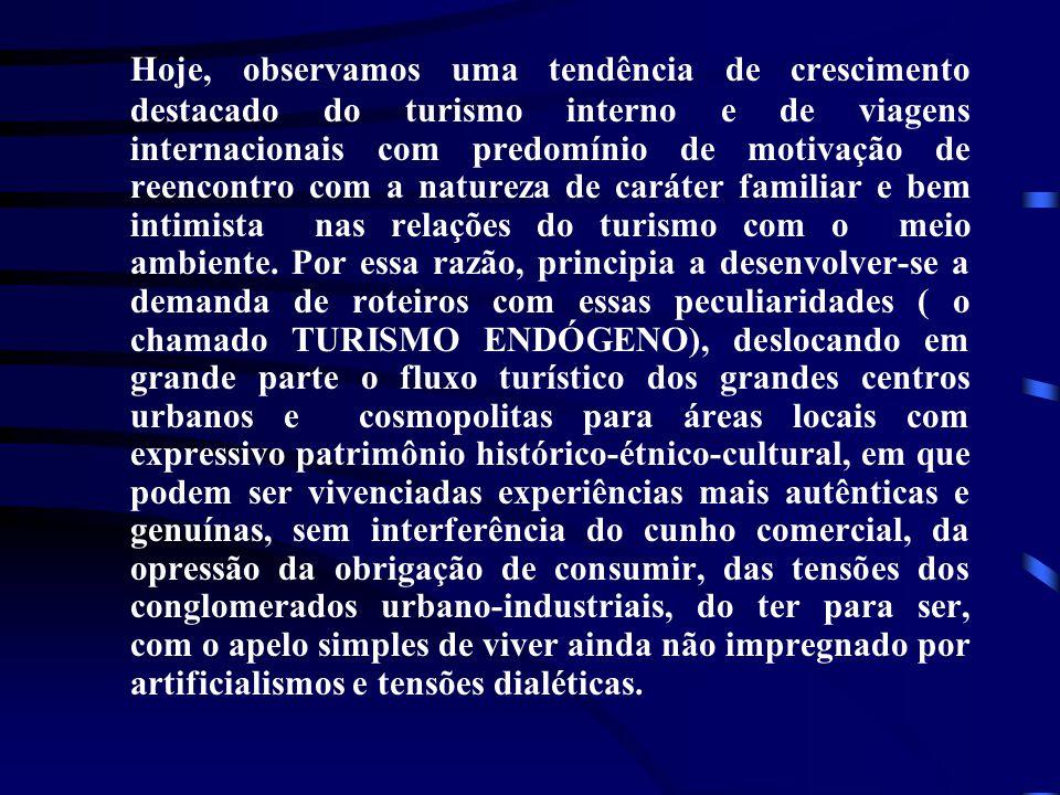 • a transferência de benefícios de uma região mais rica a outra mais pobre contribuindo para um maior equilíbrio intra regional.