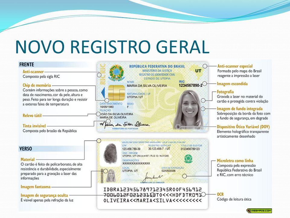 Registro Nacional de Estrangeiros  Registro Nacional de Estrangeiros (RNE).