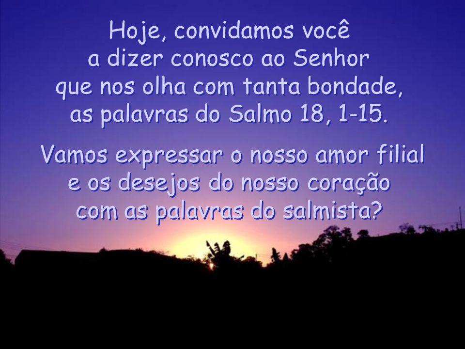 (Salmo 18,8)