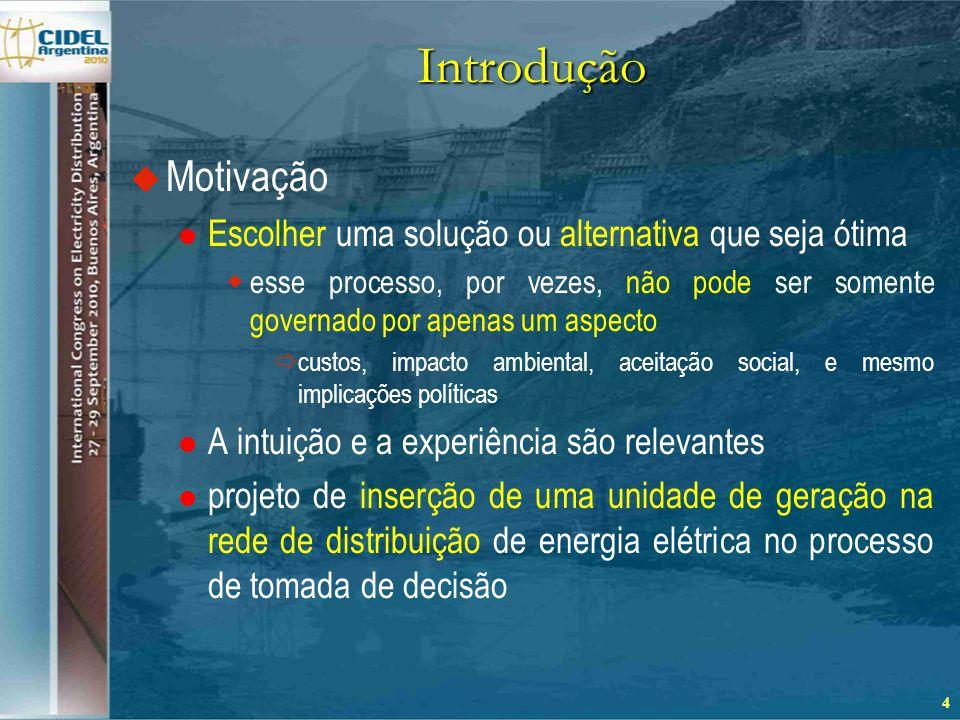 Metodologia Multicritério para o Suporte à Decisão  Métodos multicritério  A intenção do método é melhorar a qualidade das decisões, que envolvem múltiplos critérios a fim de se obter escolhas  uma negociação (trade-off) entre os critérios pode ser necessária  Métodos de não-preferência  Métodos a posteriori  Métodos a priori  Métodos interativos 5