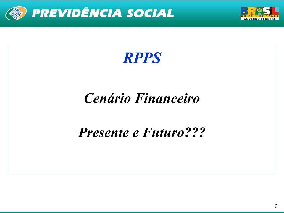 8 RPPS Cenário Financeiro Presente e Futuro???