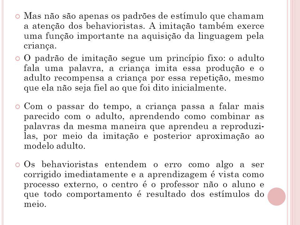 BALBUCIO É comum dividir o estágio inicial da aquisição de linguagem em duas fases: pré-lingüística e lingüística.