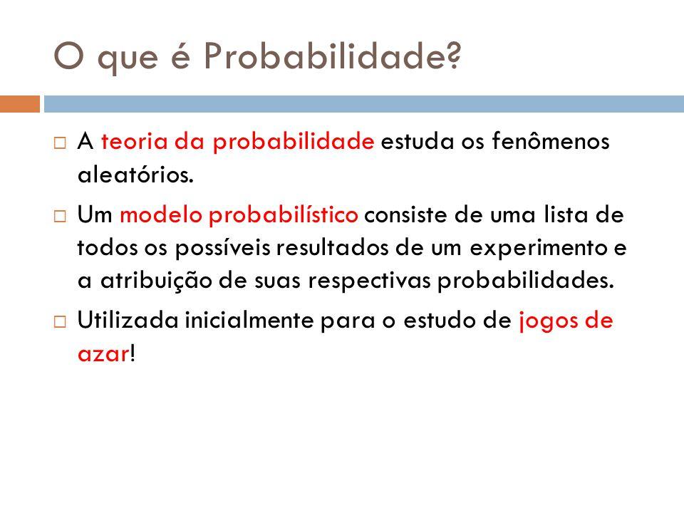 O que distingue os estatísticos é a sua habilidade em quantificar a incerteza, em torná-la precisa.
