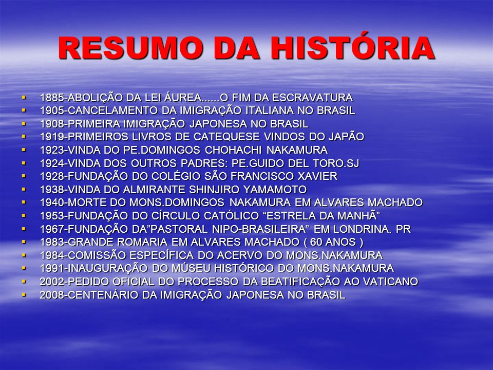40 ANOS DE EVANGELIZAÇÃO NO MEIO DOS NIKKEIS