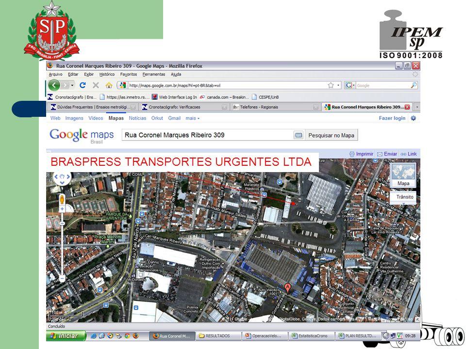 BRASPRESS TRANSPORTES URGENTES LTDA