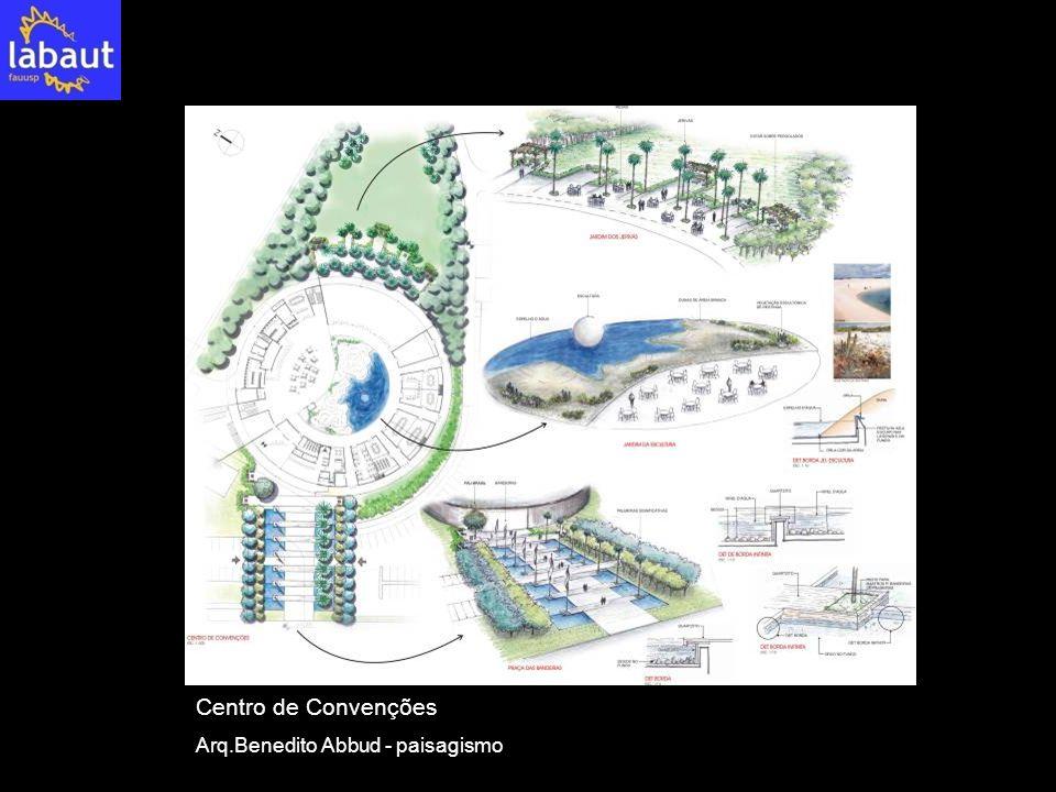 Centro de Convenções Arq.Benedito Abbud - paisagismo