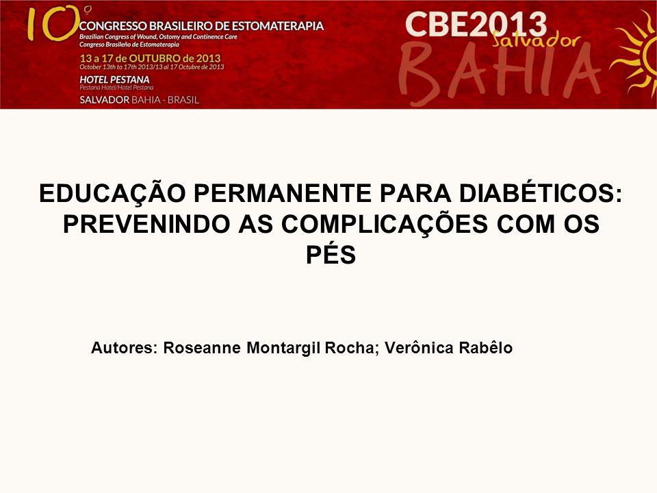 O diabetes mellitus é um sério problema de saúde pública que afeta de 3% a 5% da população mundial.