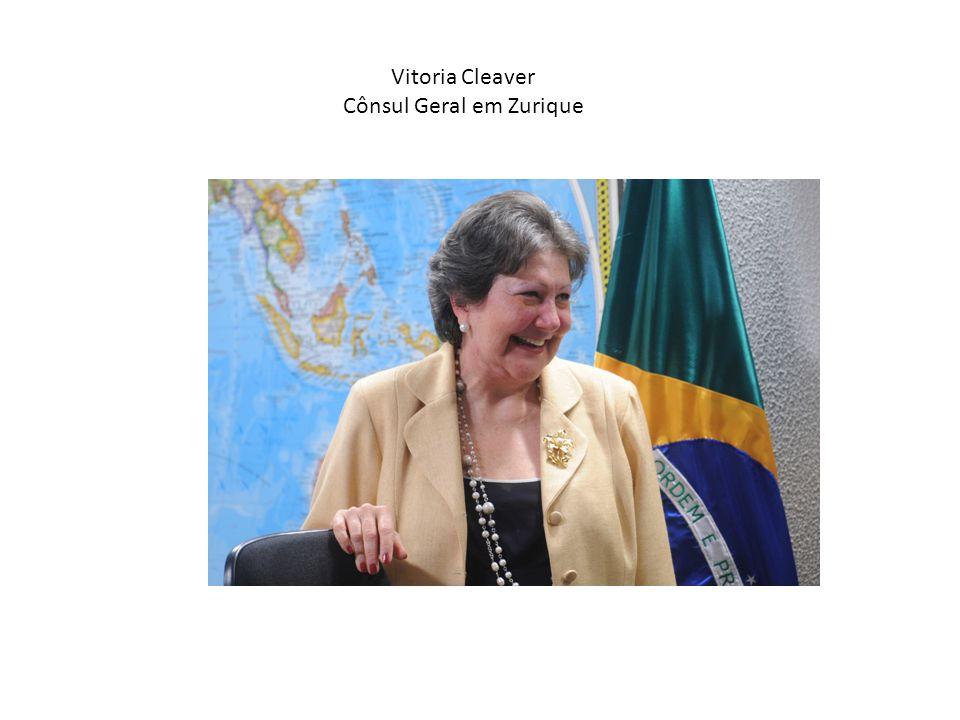 Vitoria Cleaver Cônsul Geral em Zurique
