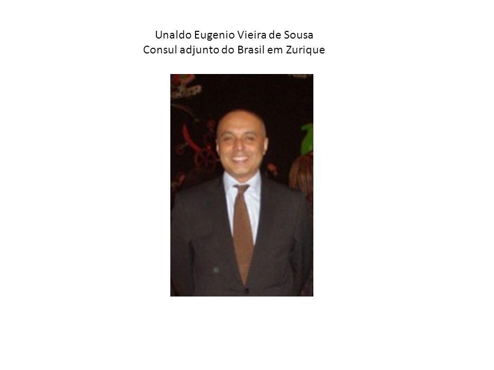 Unaldo Eugenio Vieira de Sousa Consul adjunto do Brasil em Zurique