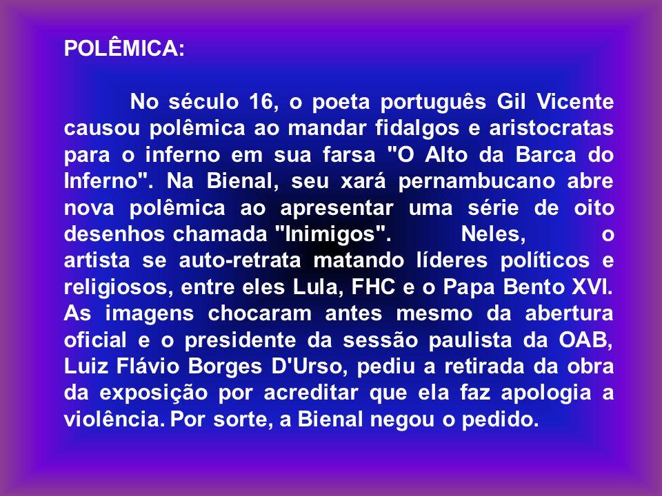 POLÊMICA: No século 16, o poeta português Gil Vicente causou polêmica ao mandar fidalgos e aristocratas para o inferno em sua farsa