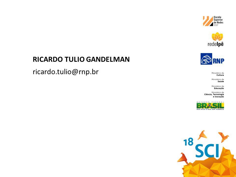 RICARDO TULIO GANDELMAN ricardo.tulio@rnp.br