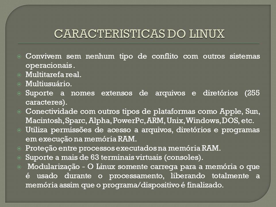  Concluímos que o sistema operacional Linux tem evoluído muito em suas funções, com muitas melhorias.