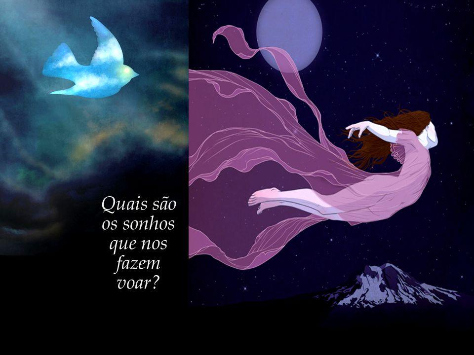 """""""Só os pássaros voam, e os anjos, e os homens quando sonham..."""" José Saramago, em 'Memorial do Convento'"""