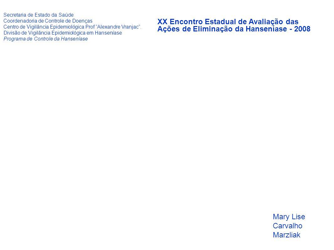 """Secretaria de Estado da Saúde Coordenadoria de Controle de Doenças Centro de Vigilância Epidemiológica Prof """"Alexandre Vranjac"""". Divisão de Vigilância"""