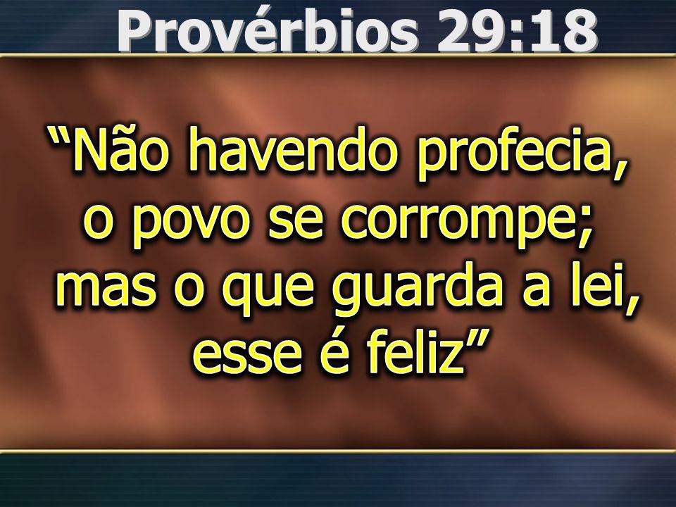 Provérbios 29:18