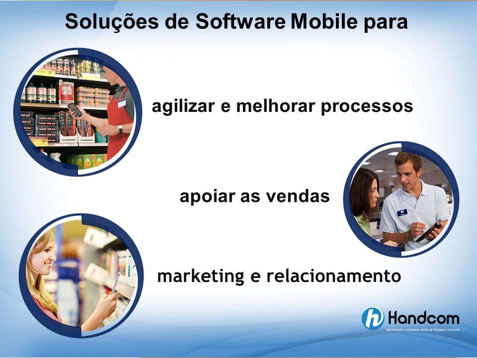 agilizar e melhorar processos apoiar as vendas marketing e relacionamento Soluções de Software Mobile para
