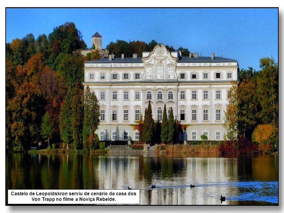 Em Salzburgo, ainda hoje, se pode escutar a música de Mozart por toda a parte.