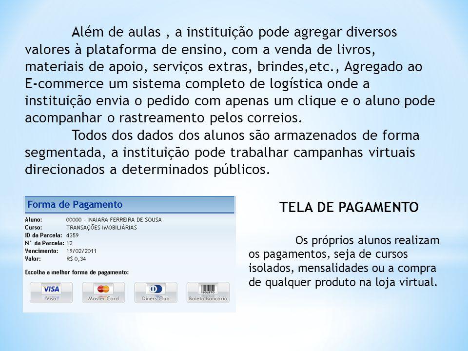 Toda e qualquer ação dos usuários dentro do sistema fica registrada, podemos identificar quando e como as atividades estão sendo realizadas.