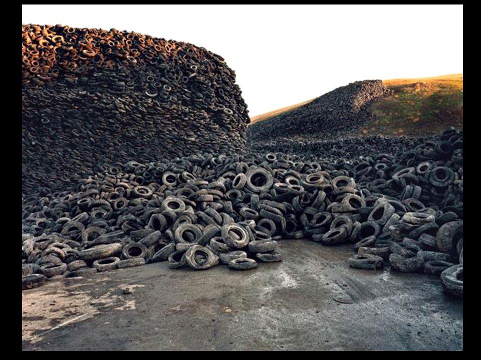 Tempo que os pneus levam para se decompor na natureza: indeterminado.