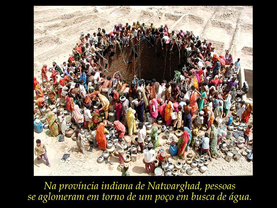 A escassez de água potável já causa 1.6 milhões de mortes por ano, além de crescentes disputas e conflitos bélicos.