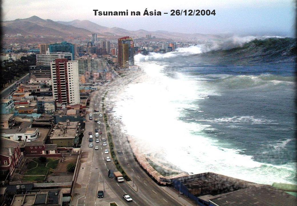 Tsunami na Ásia – 26/12/2004