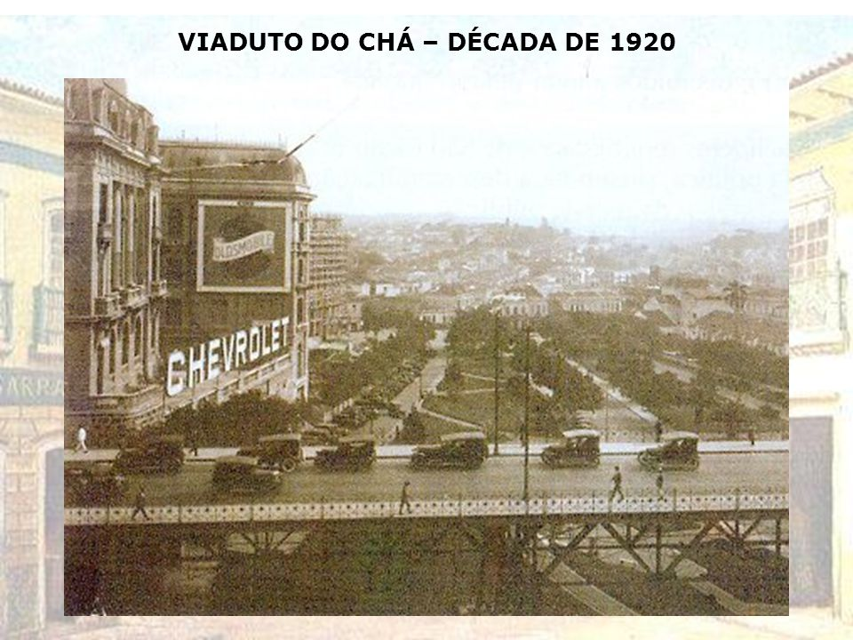 VIADUTO SANTA IFIGÊNIA - 1920