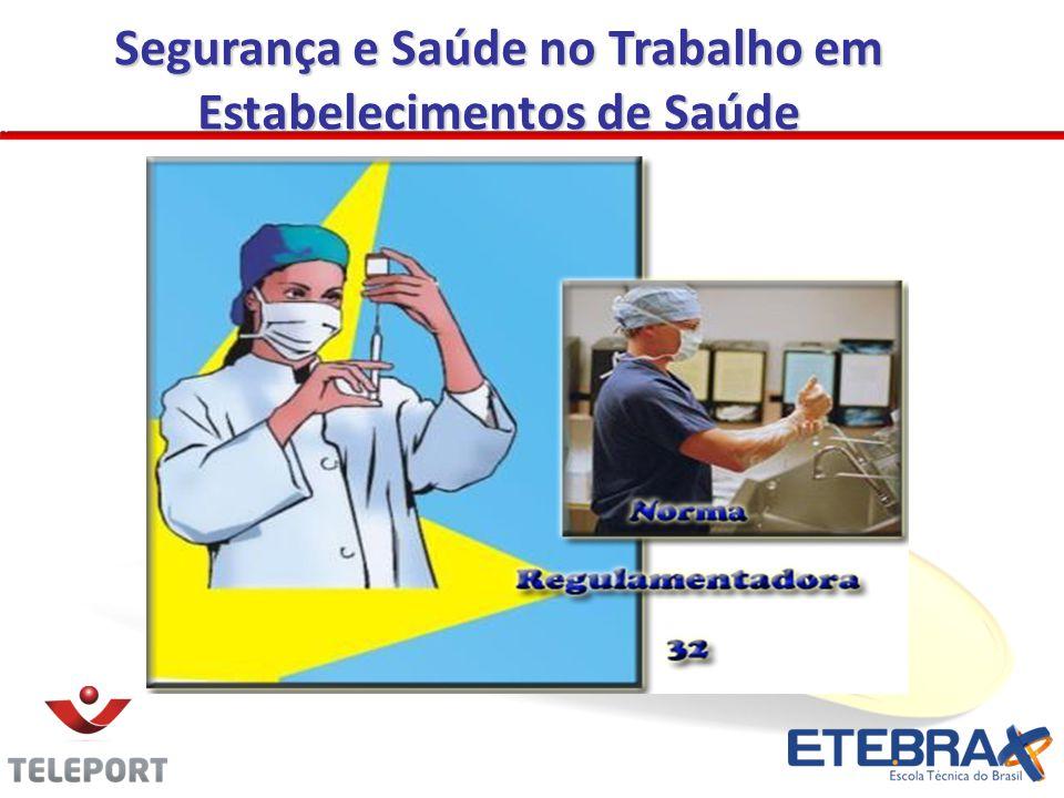 OBJETIVO E CAMPO DE APLICAÇÃO Estabelecer diretrizes básicas para a implementação de medidas de proteção à segurança e à saúde dos trabalhadores dos serviços de saúde.