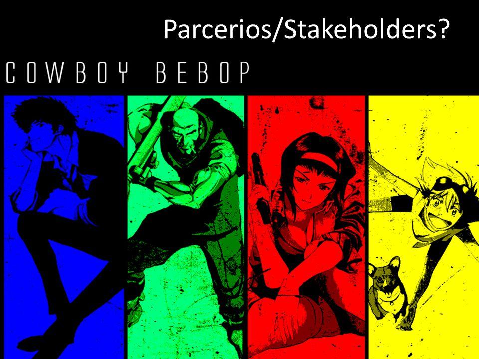 Parcerios/Stakeholders?