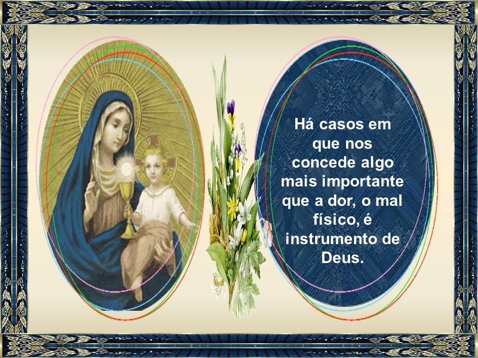 Santa Maria espera- nos como Saúde dos enfermos porque obtém a cura do corpo, sobretudo quando esta se ordena para a salvação da alma.