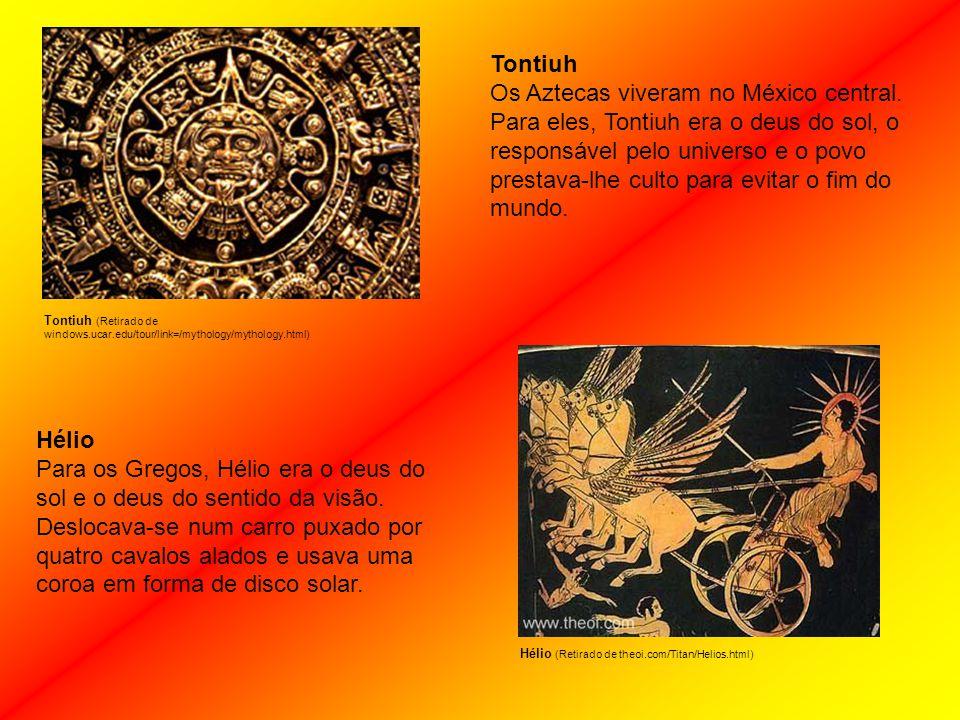 Tontiuh Os Aztecas viveram no México central.