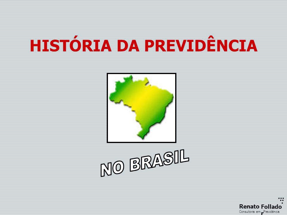 ...... RenatoFollado r Consultoria emPrevidência HISTÓRIA DA PREVIDÊNCIA