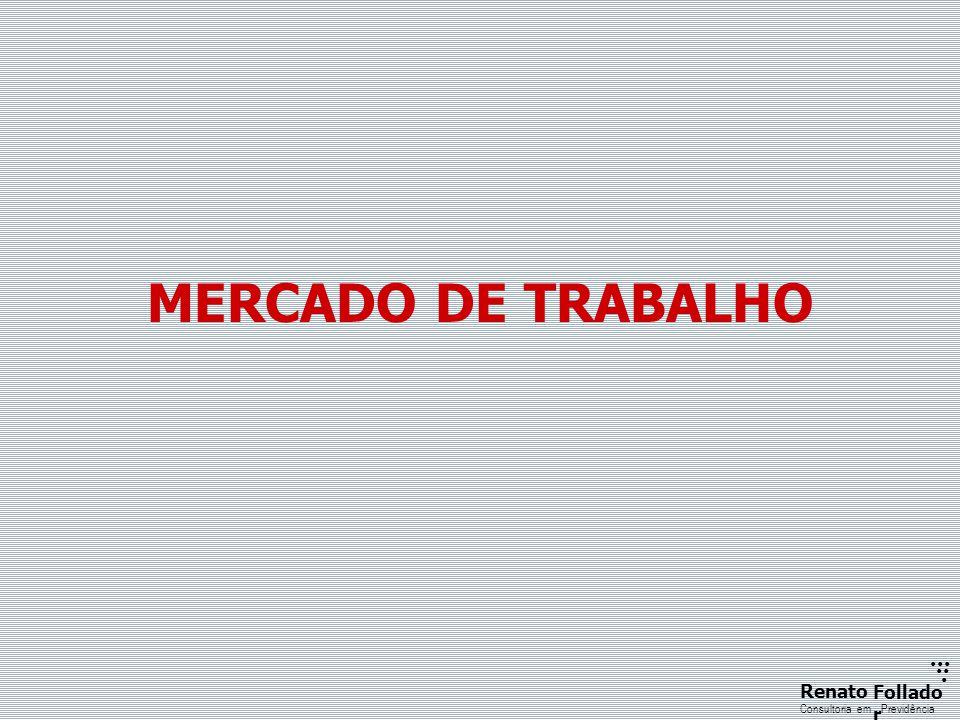 ...... RenatoFollado r Consultoria emPrevidência MERCADO DE TRABALHO