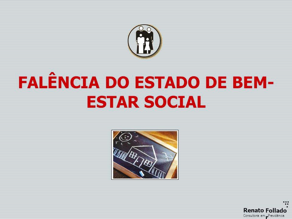 ...... RenatoFollado r Consultoria emPrevidência FALÊNCIA DO ESTADO DE BEM- ESTAR SOCIAL