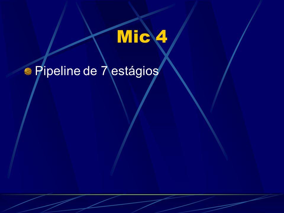 Mic 4 Pipeline de 7 estágios